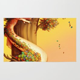 Autumn dragon Rug