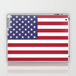 USA flag - Hi Def Authentic color & scale image Laptop & iPad Skin