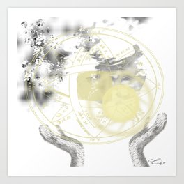 Andrea's World Art Print