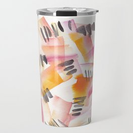 180803 August Abstract 12 Travel Mug
