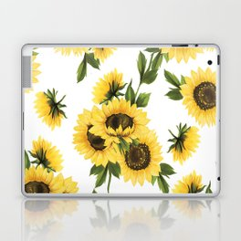 Lovely Sunflower Laptop & iPad Skin