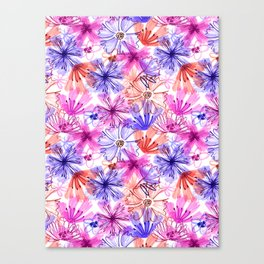scribbles Canvas Print