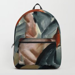 """Franz Marc """"Horse With Two Foals"""" Backpack"""