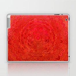 Fire Flower Mandala Laptop & iPad Skin