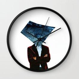 Mr. Charybdis (Handmade Collage) Wall Clock