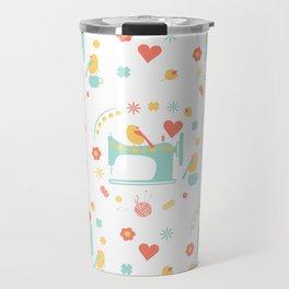 Love sewing Travel Mug