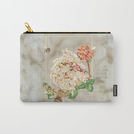 Honeybees and Buckwheat Carry-All Pouch
