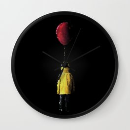 It Georgie Stained Glass Wall Clock
