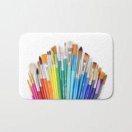 Paint the Rainbow Bath Mat