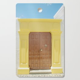 Door in Greece Cutting Board