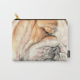English bulldog Alfie Carry-All Pouch