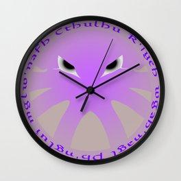 Cthulu Roundel Wall Clock