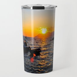 Cinque Terre Sunset Travel Mug