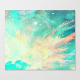 Earth phoenix Canvas Print