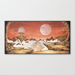 TIME WORN ETHER Canvas Print