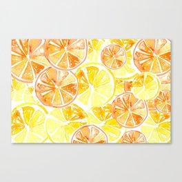 Citrus Celebration Canvas Print