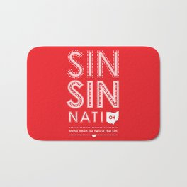 Locals Only — Sinsinnati, OH Bath Mat