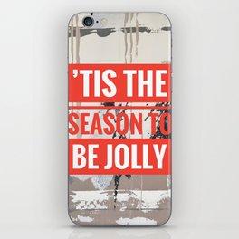 Snowfall - 'Tis the season iPhone Skin