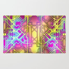 Neon Deco Rug