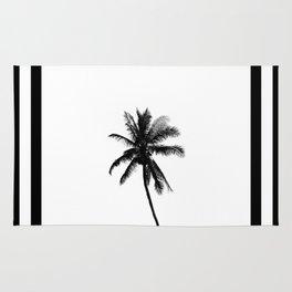 Palm Tree Squared Rug