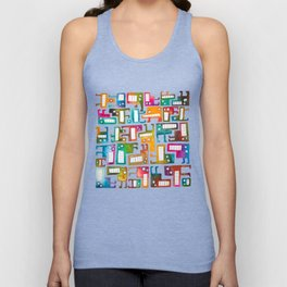 Tetris Monsters Unisex Tank Top