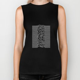 Joy Division - Unknown Pleasures Biker Tank
