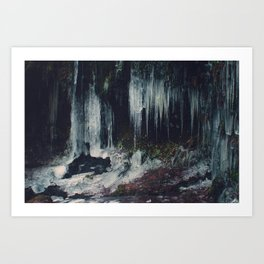 Ice Spikes Art Print