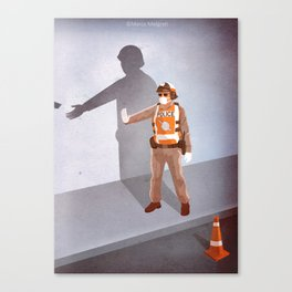 Mandatory Tipping (The Checkpoint) Canvas Print