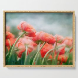 Sea of Tulips Serving Tray