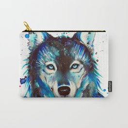 -Dark Wolf- Carry-All Pouch