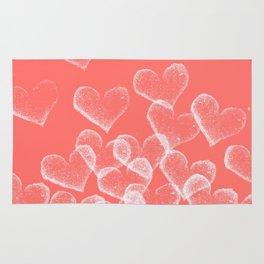 Pretty Hearts lachs Rug