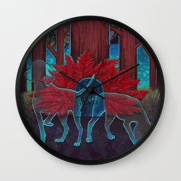 Where the Red Fern Grows Wall Clock
