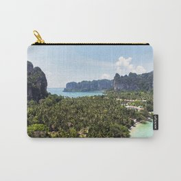 Railay Bay - Rai Leh Beach, Krabi Thailand  -  Tropical Paradise Carry-All Pouch