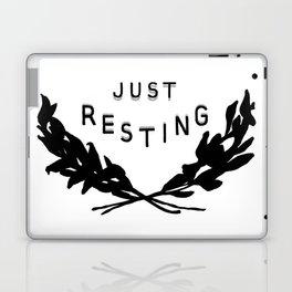 Just Resting Laptop & iPad Skin