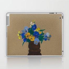 Odilon Redon - Pansies Laptop & iPad Skin