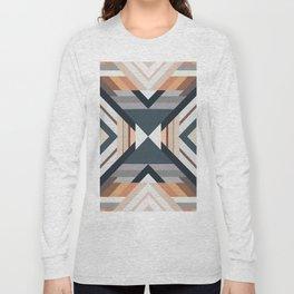 American Native Pattern No. 212 Long Sleeve T-shirt