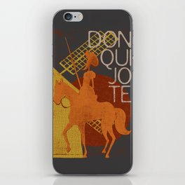 Books Collection: Don Quixote iPhone Skin