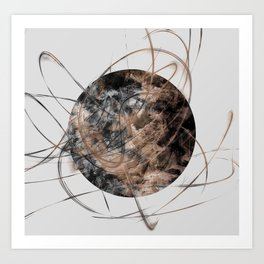 Orbit Art Print