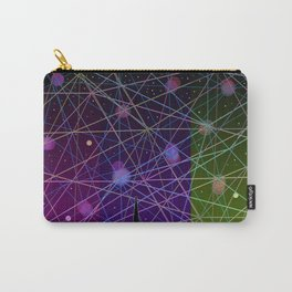 A Futurist's Starry Night Carry-All Pouch