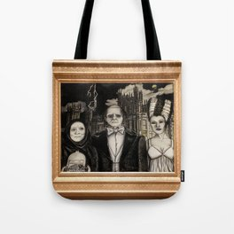 Downton Abbey Normal (Young Frankenstein Mashup) Tote Bag