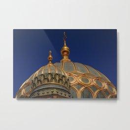 Berlin Synagogue Dome Metal Print