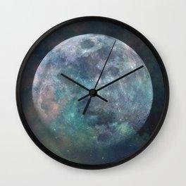 Solstice Moon Wall Clock