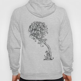 The Story Of Ferdinand (Psychedelic Bull Drawing) Hoody