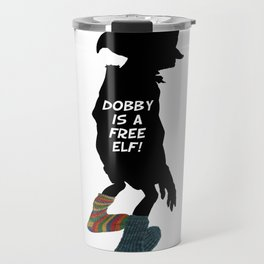 Dobby is a free elf!  Travel Mug