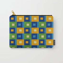Summer laziness. Squares inside each other. Carry-All Pouch
