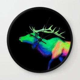 Elk #7 Wall Clock