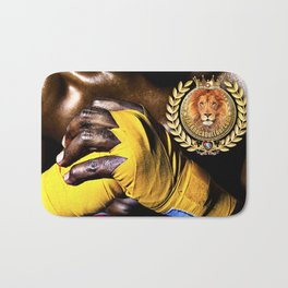 United We Fight to Knockout Gun Violence Bath Mat