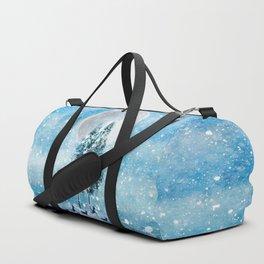 Winter Night 4 Duffle Bag