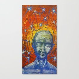 Existential Blues Canvas Print