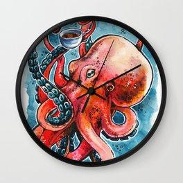 Octorista Wall Clock